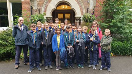 The 18th St Albans Tyler Scouts have become Dementia Friends to support people with dementia. Pictur