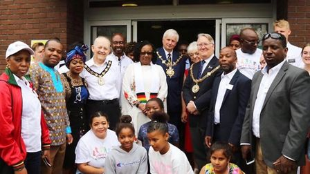 Unity in the Community event attracted more than a thousand people this weekend