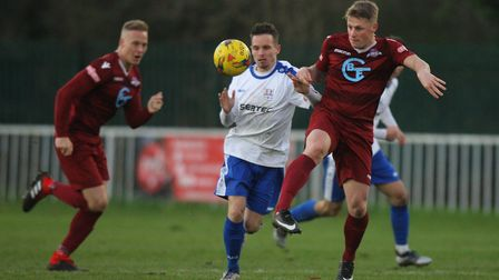 Former Welwyn Garden City and London Colney forward Jon Clements has signed for Colney Heath. Pictur