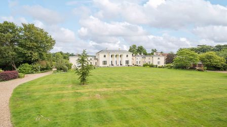 The property sits in around 4.5 acres of formal grounds which include a variety of lawn and patio se
