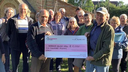 Villagers in Winwick have been handed £10,000 by the National Lottery. Picture: CONTRIBUTED