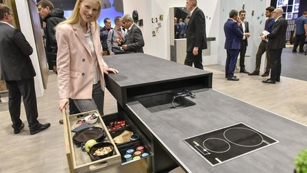 New order: suppliers showcased the very latest developments at the four-day show, including kitchens