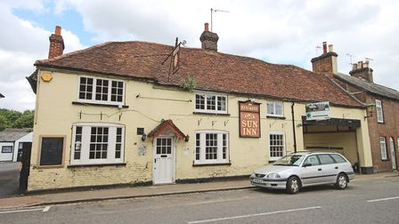 The Sun Inn, High Street, Markyate, as it looked soon after its closure in 2013. Picture: Ashtons