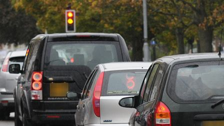 Herts County Councils highways team is reporting long delays on the A5183 northbound towards the jun