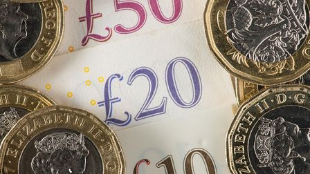 Money stock image. Picture: Dominic Lipinski/PA Wire/PA Images