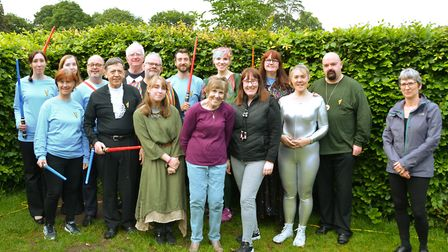 Breakaway Theatre Company's open-air production of The Tempest in St Albans. Picture: Bruce Akhurst