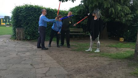Breakaway Theatre Company''s open-air production of The Tempest in St Albans. Picture: Susie Wyeth