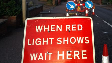 There will be traffic signals on Hatfield Road. Picture: Jim Pearson