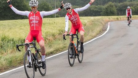 Matt Watson took the win in a dominating performance for RockandRoad-Ellisix Cycling Team at the Bov