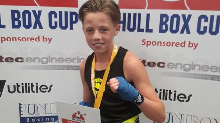 New Saints ABC star John Doe won the Hull Box Cup. Picture: SUBMITTED