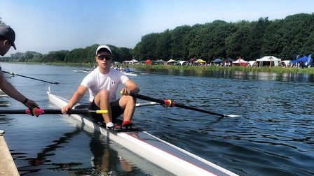 Matt Allen of St Ives Rowing Club. Picture: SUBMITTED