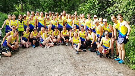 St Albans Striders at the Ludlow parkrun (pic Jen Conway)