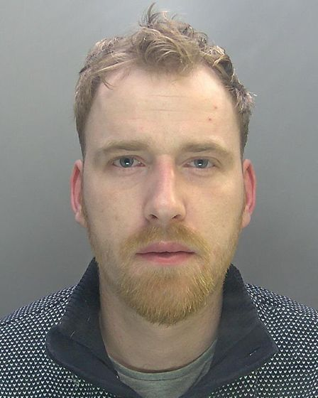 Samuel James, of St Ives, has been jailed for 36 months. Picture: CAMBS POLICE