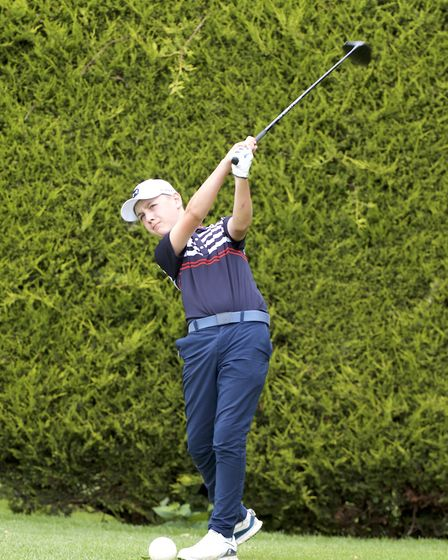St Neots Golf Club talent Oliver Toyer. Picture: SUBMITTED