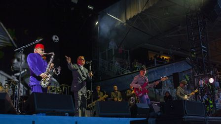 Madness at Newmarket Nights on Friday PICTURE: Angela Smith