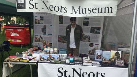 Chris Jones from the St Neots Museum