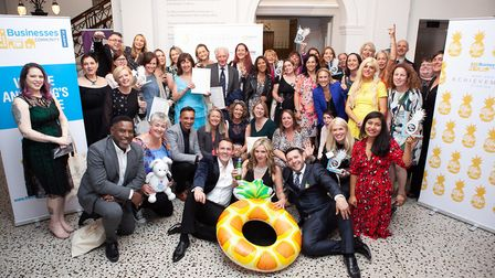 The Business Community St Albans hosted the Woo Hoo awards in St Albans Museum + Gallery. Picture: M