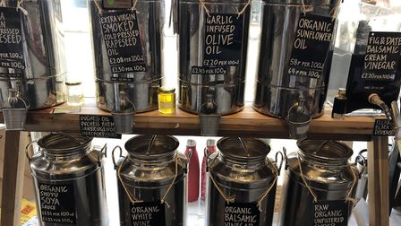 The Refill Pantry enables a plastic-free shopping experience. Picture: Laura Bill