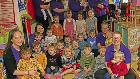 Staff at Butterfly Nursery win praise from Ofsted