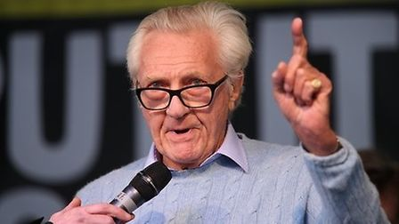 Michael Heseltine speaking at an earlier People's Vote rally. Picture: Yui Mok/PA Wire/PA Images