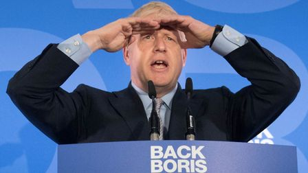 Boris Johnson during the launch of his campaign to become leader of the Conservative and Unionist Pa