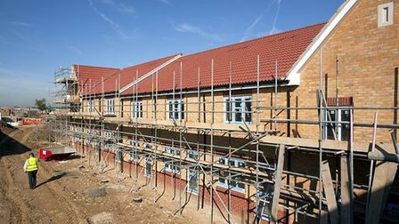 House prices in Huntingdonshire increased by more than two per cent year-on-year.
