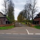 The entrance to Houghton Grange. Picture: GOOGLE