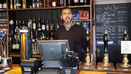 Bas Basra has taken over at The Jester Country Inn and Hotel in Odsey. Picture: Vye Photography