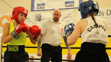Shannon Smith took on Hannah May Anderson in a skills bout.