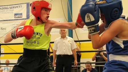 Mackenzie Lafferty-Brennan made an excellent debut in the ring.