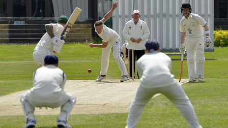 Michael Speed bagged five wickets as St Ives & Warboys beat Stamford Town. Picture: DUNCAN LAMONT