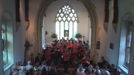 Reed Choir's concert at St Mary's Church. Picture: Reed Choir