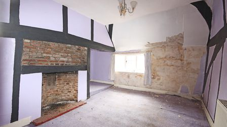 Bedroom two as it looked before renovation work commenced. Picture: Ashtons