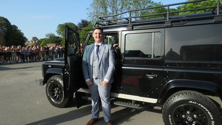 Bassingbourn Village College's 2019 prom for Year 11 students. Picture: BVC