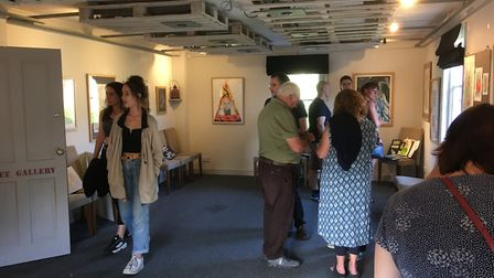The Plough at Shepreth is staging an exhibition of MVC Year 11 students' GCSE artwork until July 17
