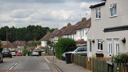 Roland Street, St Albans. Picture: Danny Loo