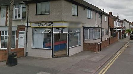 Harry Styles filmed a Gucci ad at The Camp fish and chip shop. Picture: Google Street View
