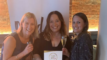 Emma Bustamante of Cositas in St Albans with Katrina Harper-Lewis and Jo Findlay from the Muddy Stil