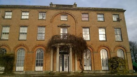 Gaynes Hall, in Perry, where the plants were discovered. Picture: CAMBS POLICE