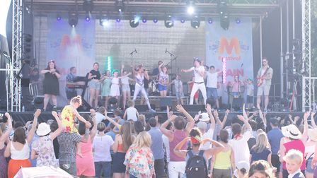 M Festival is returning to St Albans in July. Picture: M Festival