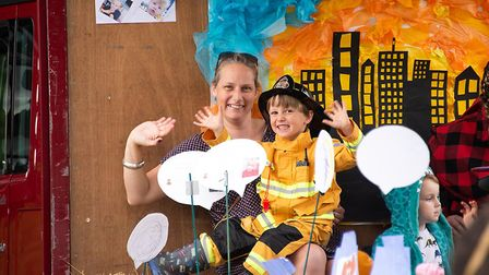 Residents flocked to the Somersham Carnival. Picture: JLC Photography