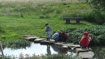 The Mill River Nature Reserve opened in Shingay-cum-Wendy for the Red Cross Open Gardens event. Pict