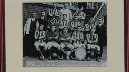 One of the historical photographs which are up for auction. Picture: Submitted by Kathy Connolly