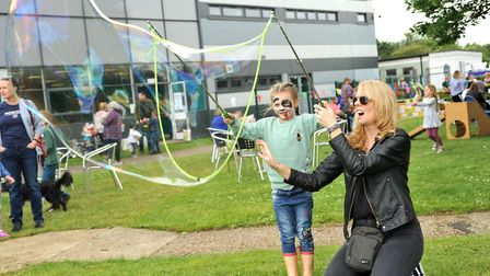 An open day was held at Cambridge Regional College's Huntingdon campus. Picture: CONTRIBUTED
