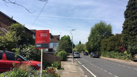 A sold sign is the stuff of dreams for many homeowners. Picture: Archant