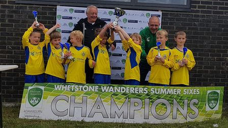 St Albans City Youth U7s were winners at the Whetstone Wanderers Sixes.