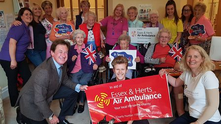 Margaret House Residential and Dementia Care Home in Barley held a fundraising tea in aid of Essex a
