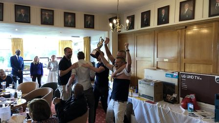 Hanson Services Ltd fourth Charity Golf Day was held at Royston Golf Club. Picture: Bruce Gibson