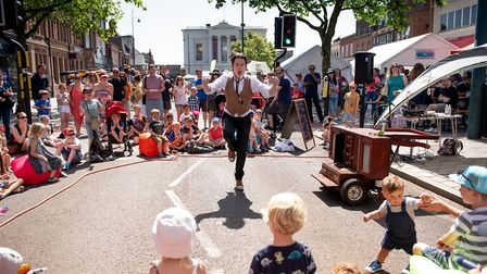 St Albans Street Festival is taking place in the city centre on Sunday, June 23. Picture: St Albans