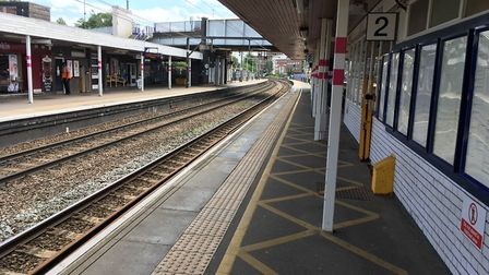 By the existing toilets on platform two/three. Picture: Archant